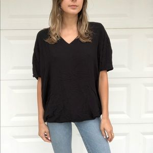 Bella luxx black vneck shirt
